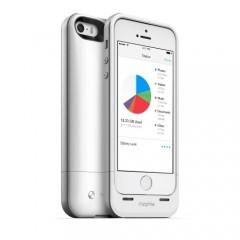 Mophie telefono viršelis - papildoma baterija ir atmintinė
