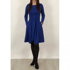 Mėlyna suknelė Klasika LS0018