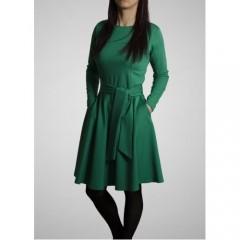 Žalia suknelė Klasika LS0016