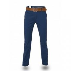 Šviesiai mėlynos kokybiškos vyriškos kelnės