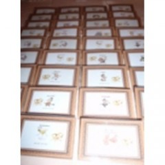 Nominacijų kortelės su dėklu