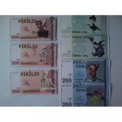 Pinigai, juokingi ar su nuotrauka